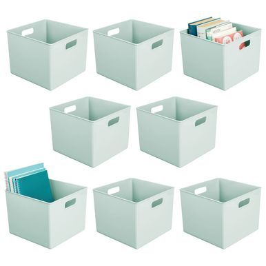 Plastic Home Storage Bin For Furniture Storage 10 X 10 X 8 Cubby Storage Cubby Storage Bins Storage Bins