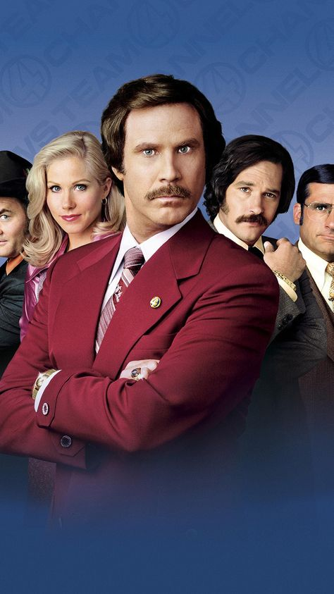 Anchorman: The Legend of Ron Burgundy (2004) Phone Wallpaper | Moviemania