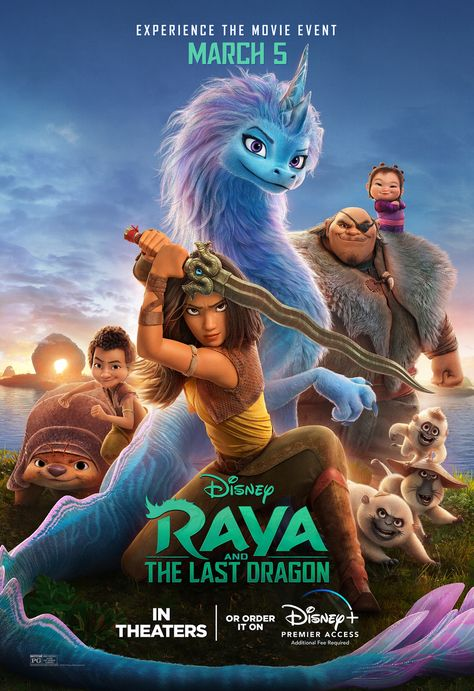 Raya and the Last Dragon Movie Poster (#7 of 21)
