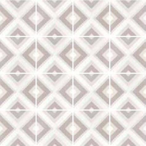 Square Pastel Carrelage Aspect Carreaux De Ciment Losange Pastel