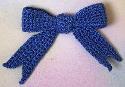 Ravelry: Bow pattern by Helen Free
