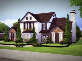 Welcome To Monridge A Magnificent Home Built On A 40x30 Residential Lot Featuring 4 Bedrooms And 3 5 Baths This Ho Sims House Sims 4 Houses Sims House Plans