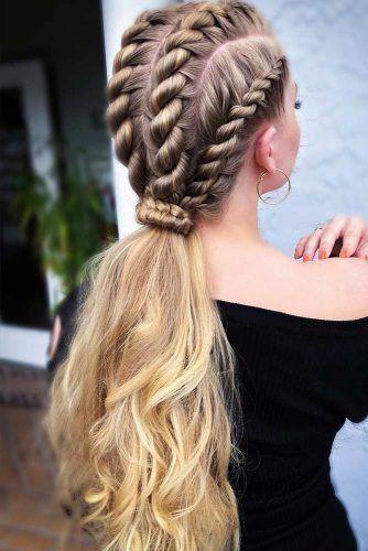 50 Charming Braided Hairstyles New Site Geflochtene Frisuren Frisuren Lange Haare
