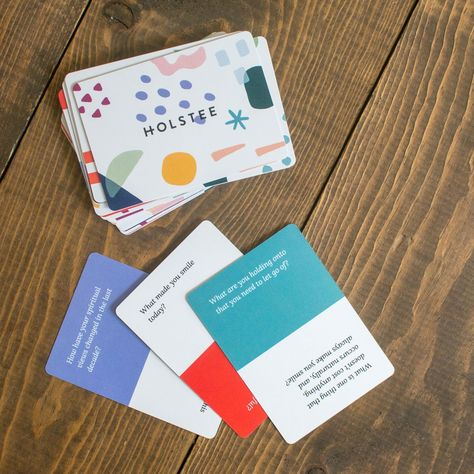 Reflection Cards   Conversation Starters and Question Cards   Holstee