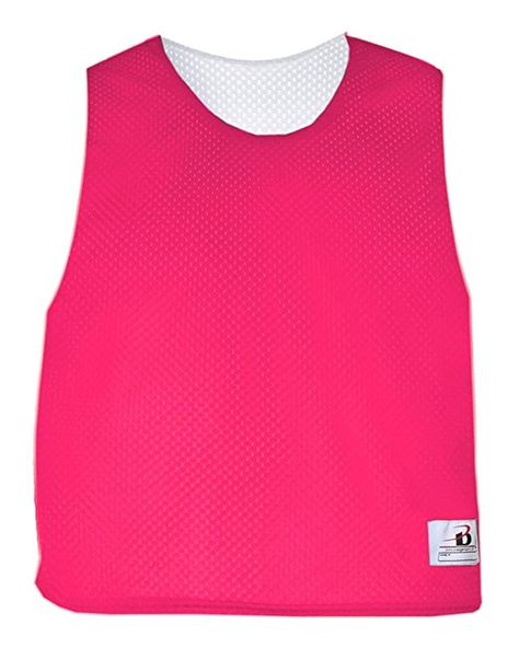 1dc404e41 Amazon.com   Reversible Practice Poly Mesh LAX Jersey Pinnies (16 Colors in  Youth