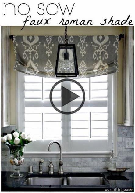 Diy Kitchen Curtains Above Sink No Sew 28 Best Ideas Kitchencurta Window Treatments Toppers