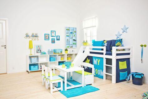 Hoppekids Halbhohes Bett Weiss 90 200cm My Room Fsc