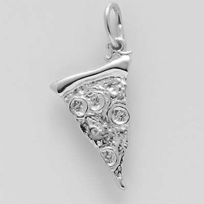 Rembrandt Charms Pizza Slice Charm