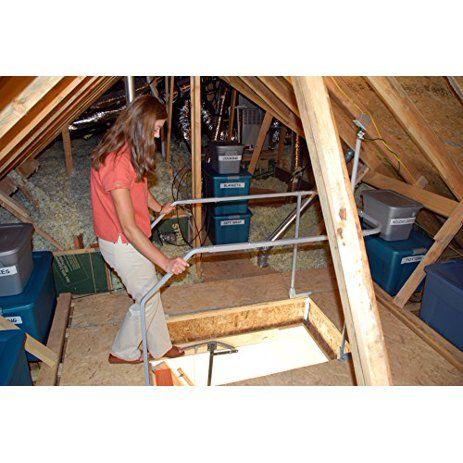 Versa Lift Attic Ladder Safety Railing Model Vr 60 Walmart Com In 2020 Attic Storage Garage Attic Attic Ladder