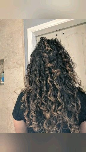Curly Girl Method 2c 3a Routine Wash Day