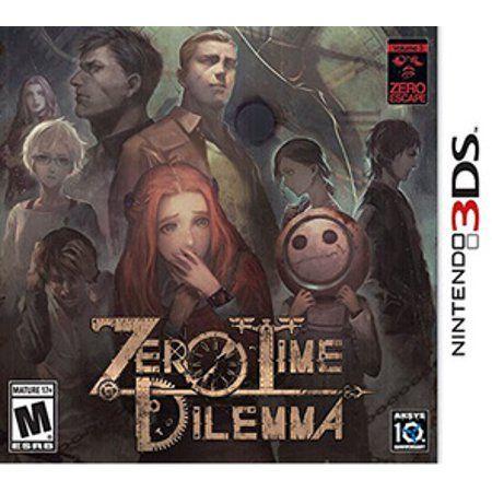 zero time dilemma aksys games nintendo 3ds 865415000195 walmart com dilemma ps vita ps vita games