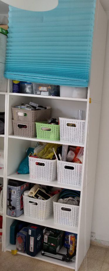 Galant Tool Cabinet With Roll Down Shades Avec Images Abat Jour Armoire Decoration