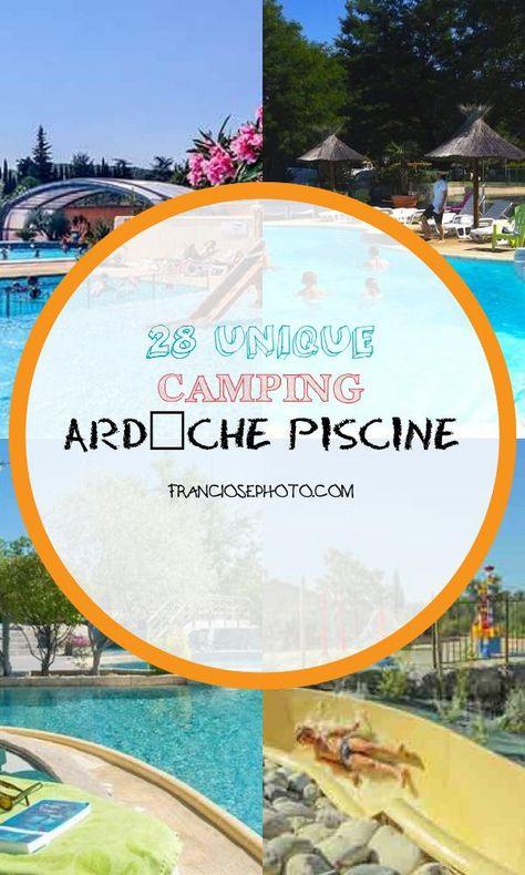 28 Unique Camping Ardeche Piscine
