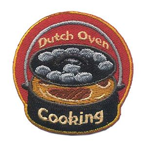 Girl Scout Fun Patch Dutch Oven Cooking