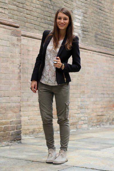 Desert boots women outfit