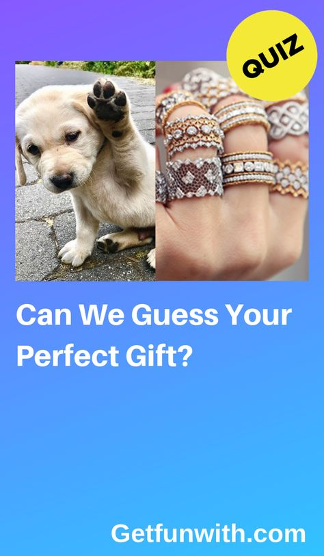 What would you like to receive all wrapped up with a bow? #quiz #quizzes #gift