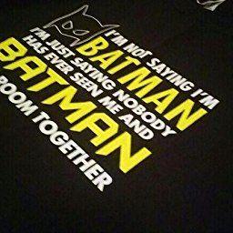 Amazon Com I M Not Saying I M Batman I M Just Saying Graphic Novelty Mens Funny T Shirt S Black Clothing Funny Tshirts Im Batman Funny T