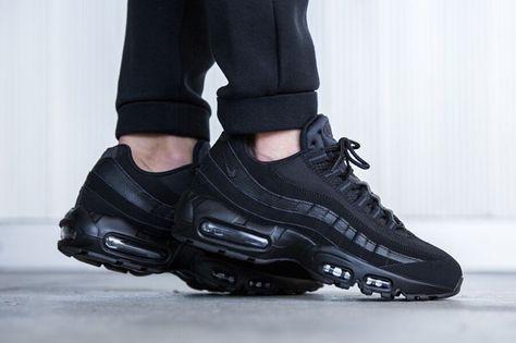NIKE AIR MAX 95 (TRIPLE BLACK) Sneaker Freaker | Nike air