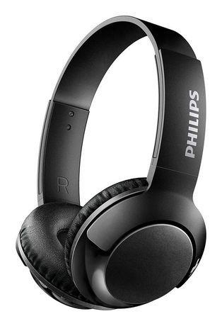 Philips Philips Bass On Ear Headphones Black With Images Bass Headphones Headphones Black Headphones