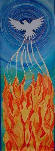 200 Pentecost ideas | pentecost, church banners, pentecost craft