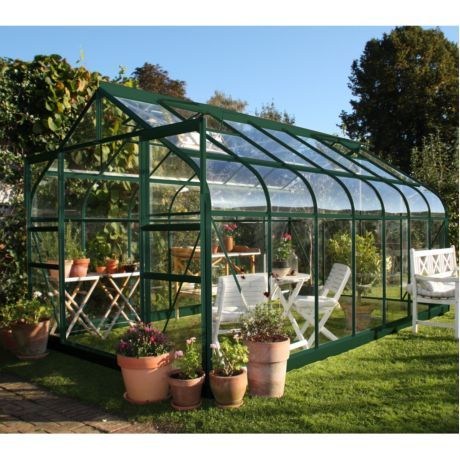 Serre De Jardin En Bois Et Verre Trempe Classic 7 20 M Hors Tout Cedre Rouge Juliana Garden Living Pergola On The Roof Pergola Patio