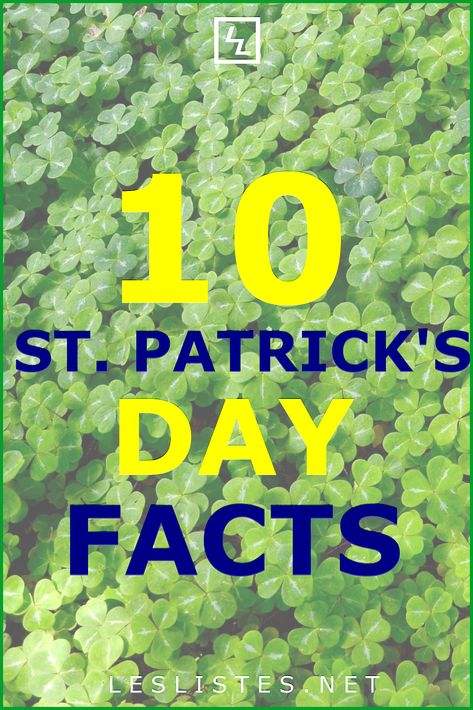 St Patrick s Day is the biggest Irish holiday celebration Check out the top 10 St Patrick s Day facts to learn more about this day stpatricks St Patrick s Day is the biggest Irish holiday celebration Check out the top 10 St Patrick s Day facts to learn more about this day stpatricks saintpatricks stpatricksday facts Best Picture For history facts secret For Your Taste You are lookin | st patricks day facts for kids history #americanhistoryfacts #biggest #celebration #check #facts #holiday #irish