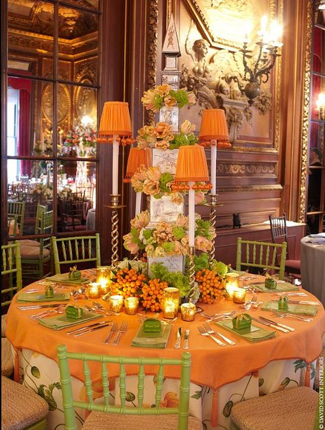 Fall table stating by David Scott Interiors