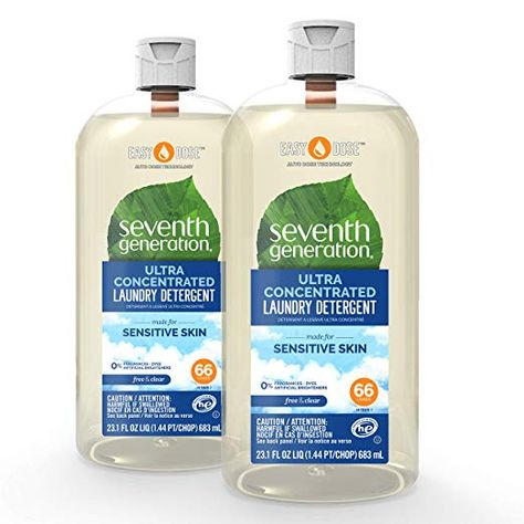 Seventh Generation Laundry Detergent Ultra Concentrated Easydose