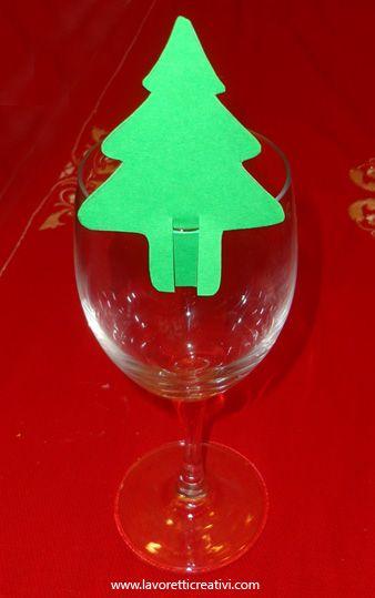 Facili Segnaposto Natalizi.Segnaposti Di Natale In Natale Prazdnichno Xmas Tree Natale