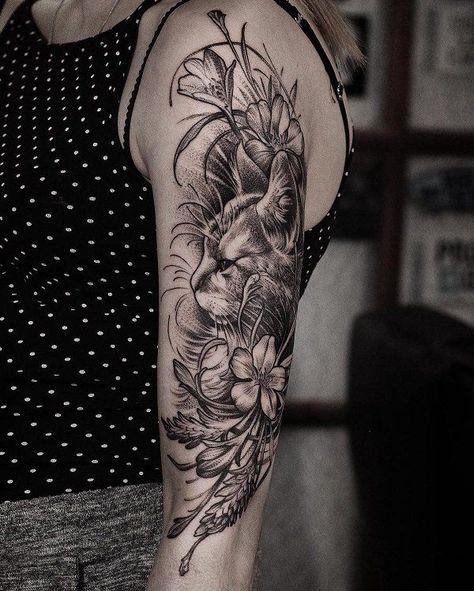 100+ Beispiele für Cute Cat Tattoo #beispiele #tattoo