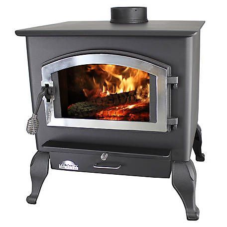 Us Stove Magnolia Wood Stove With Blower And Legs 2 500 Sq Ft At Tractor Supply Co Wood Stove Stove Wood