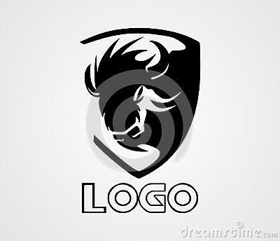The Bison Logo Vector Animal Logo Is A Good Logo Design For Car Club Bison Logo Car Automovie Club Design Graphic Animal Logo Vector Logo Bison Logo