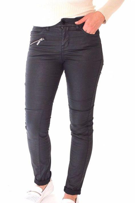 Karen Millen PY096 Navy Slim Skinny Jeans Leggings Pants Trousers 6 to 16 New