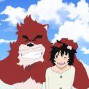 ケモノ 熊猪 白子のイラスト Anime Art