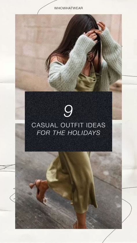 Casual Outfit Ideas for the Holidays