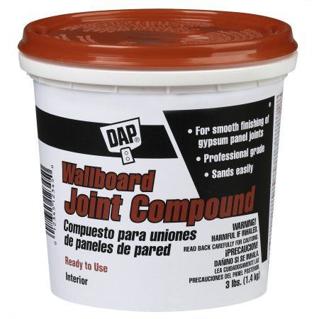 Dap 10100 3 Lb Wallboard Joint Compound Walmart Com Wall Board Premixed Grout Drywall Joint Compound