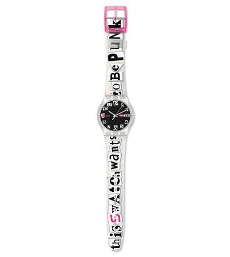 Swiss made, the Swatch watch PUNKED'UP features a not defined movement, a silicone strap and a plastic watch head. Discover more Originals Jelly in Jelly on the Swatch United States website.