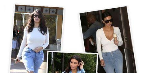 Kim Kardashian Styling Tricks