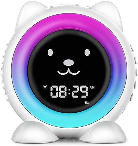 Enjoy Exclusive For Icode Kids Alarm Clock Children S Sleep Trainer Wake Up Light Night Light Sleep Sound Machine Teach Child When Fine Wake Up Online T In 2020 Kids Alarm