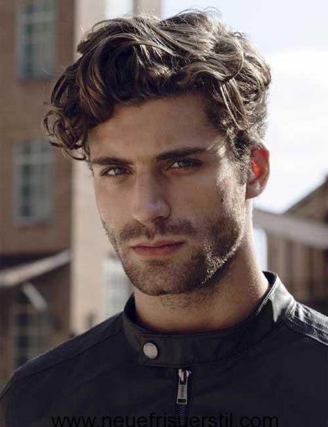 Best Medium To Long Mens Hairstyles 2018 Medium Length Wavy Hair 1 Click Image To View More Men Gentlem In 2020 Wavy Hair Men Latest Men Hairstyles Curly Hair Men