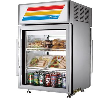 True Countertop Refrigerated Merch Gdm 5pt S Countertop Pass