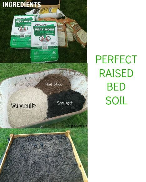 {Raised Bed Gardening Part 2} Putting Together The Soil | Raised Bed,  Gardens And Vegetable Garden