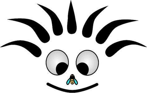 Cn Smiley Noir Et Blanc Mouche Sur Le Nez Emoticone Clipart Cartoon Telechargement Gratuit Et Sans Inscription Noir Et Blanc Emoticone Clipart