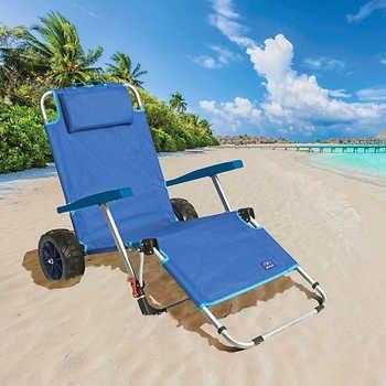 Mac Sports Beach Day Lounger Combo Cart Lounger Beach Day Pool Lounger