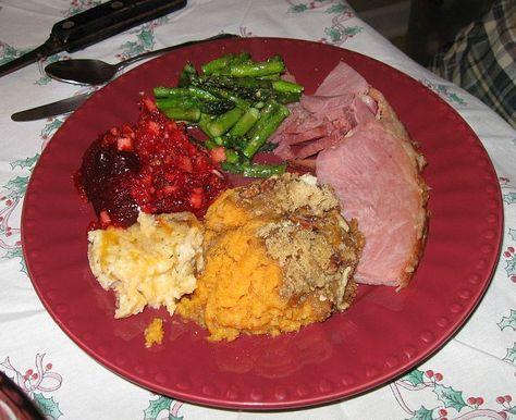 Christmas Ham Dinner.Christmas Dinner With Ham Christmas Recipes Ham Dinner
