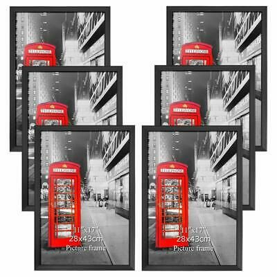 Details About Amazing Roo Poster Frame 11x17 Inch Black Picture Frames 6 Pack Without Mat 1 In 2020 Picture Frames Black Picture Black Picture Frames