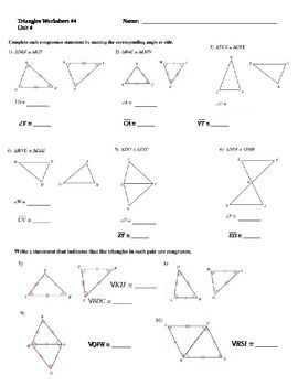 Corresponding Parts Of Congruent Triangles Teacher Newsletter