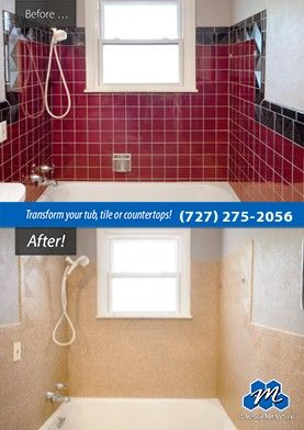 Don T Replace Refinish If You Are Looking For Ceramic Tile