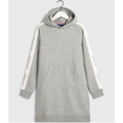 Gant Icon Hoodie Kleid (Grau) Gant in 2020 | Kleider für