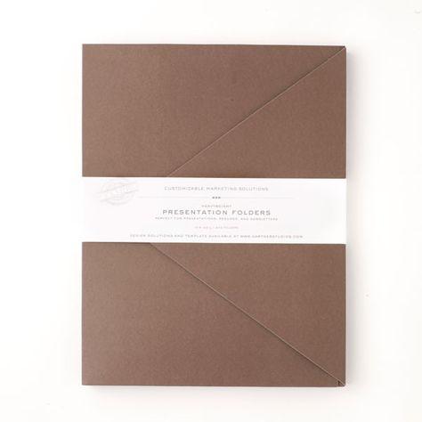 15 best Folder \/ Map images on Pinterest Folder design, Leaflet - resume folders